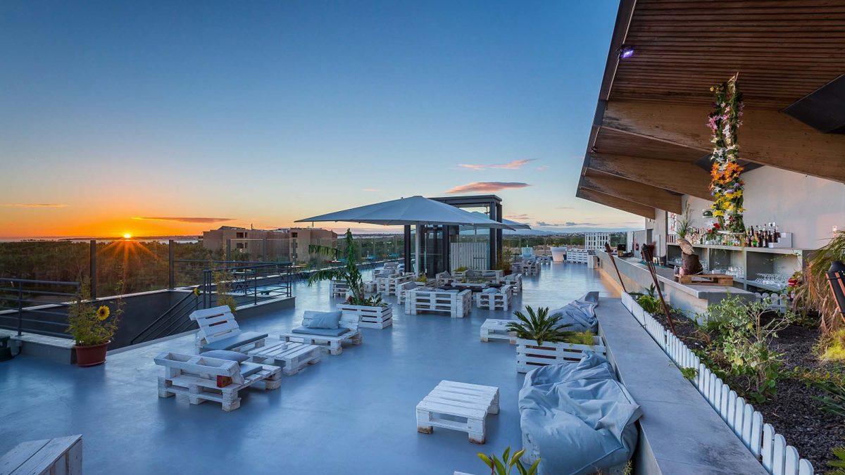Liquid Lounge – o rooftop bar de vista privilegiada