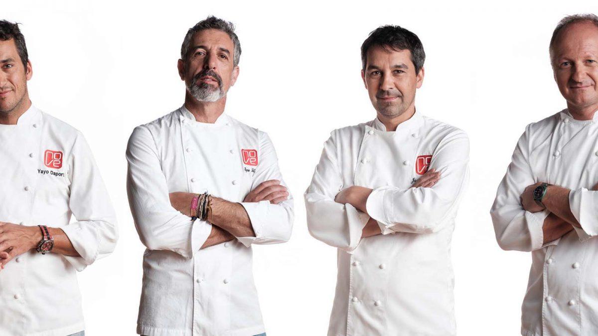 4 chefs estrelas da Galiza no Oficina