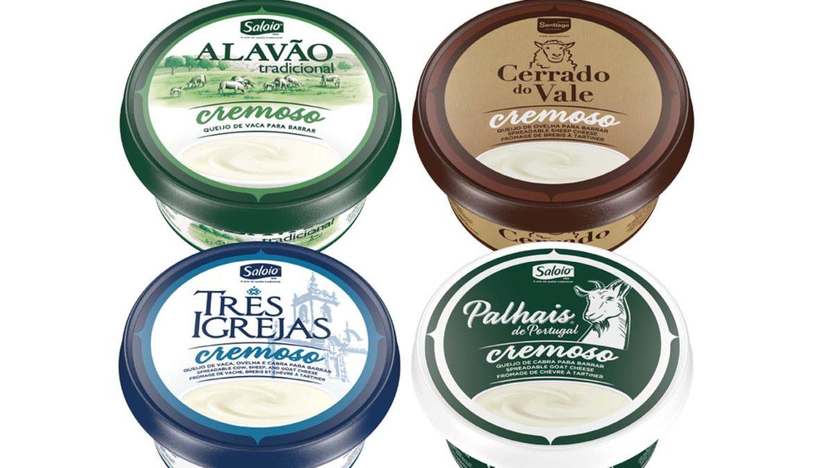 Santiago e Saloio com queijos para barrar
