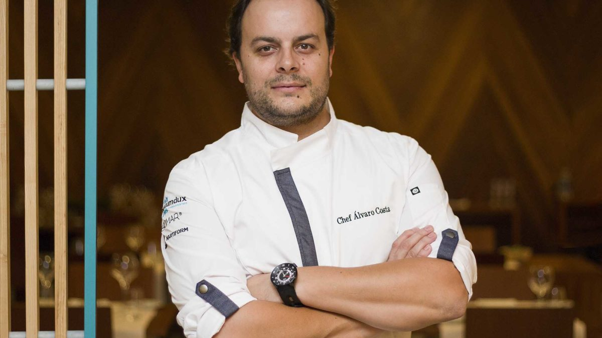 Chef Álvaro Costa no Hotel Meira