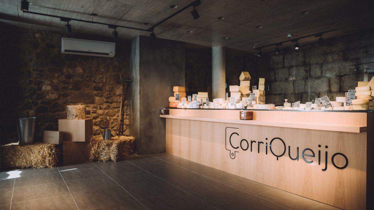 Corriqueijo, a loja de queijos de Braga