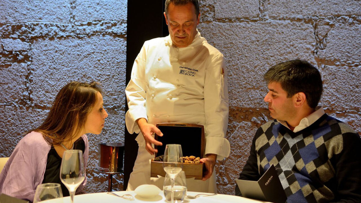 Restaurante Egoísta celebra a Trufa Negra