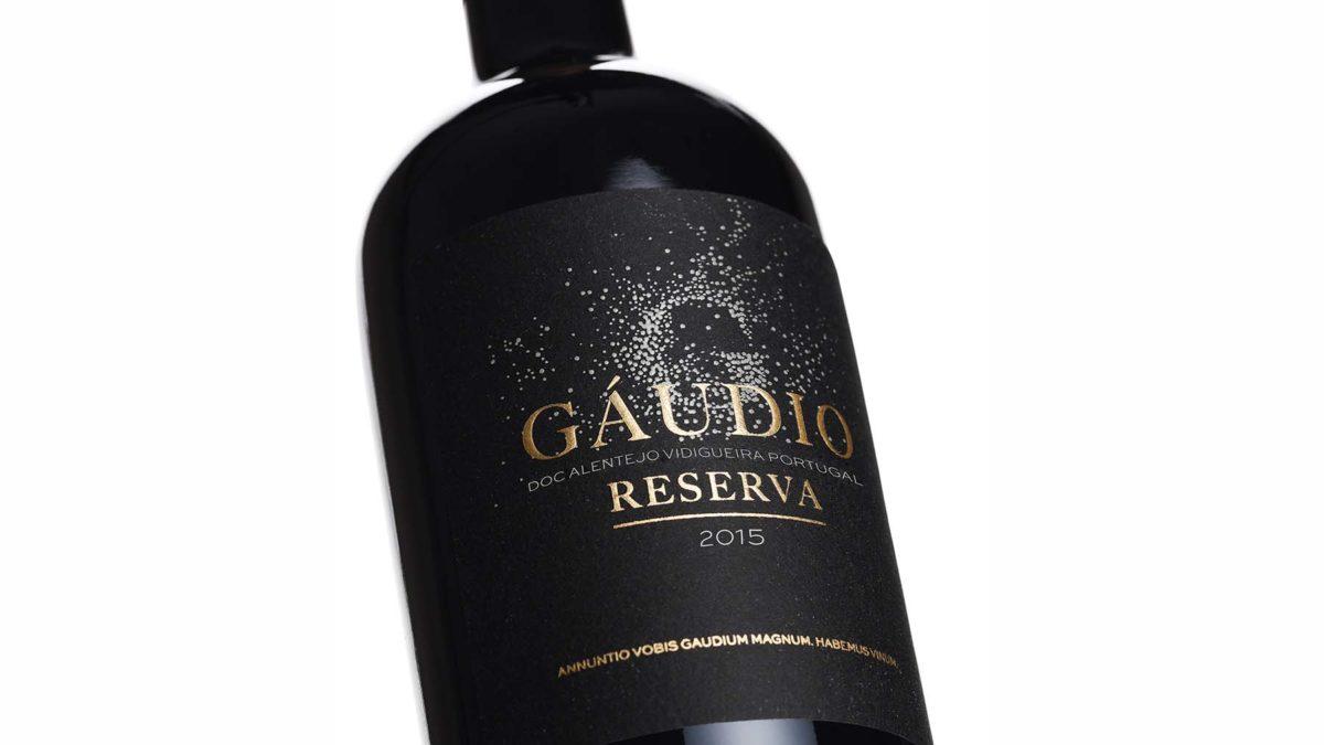 Nova colheita Gáudio Reserva 2015