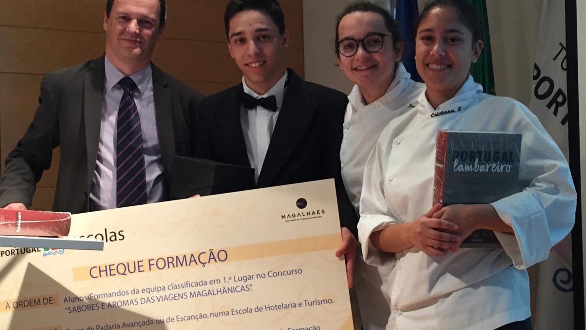 Escola Profissional do Vale do Tejo vence Concurso de Gastronomia