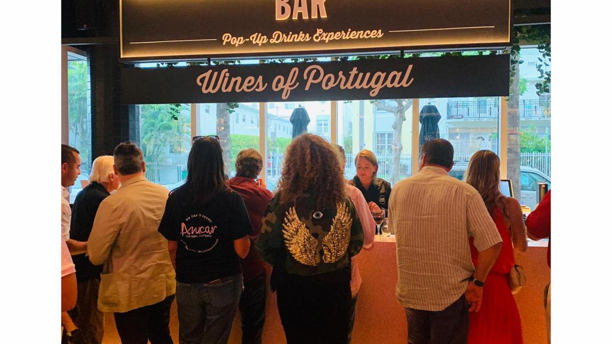 Vinhos portugueses no  TimeOut Market Miami