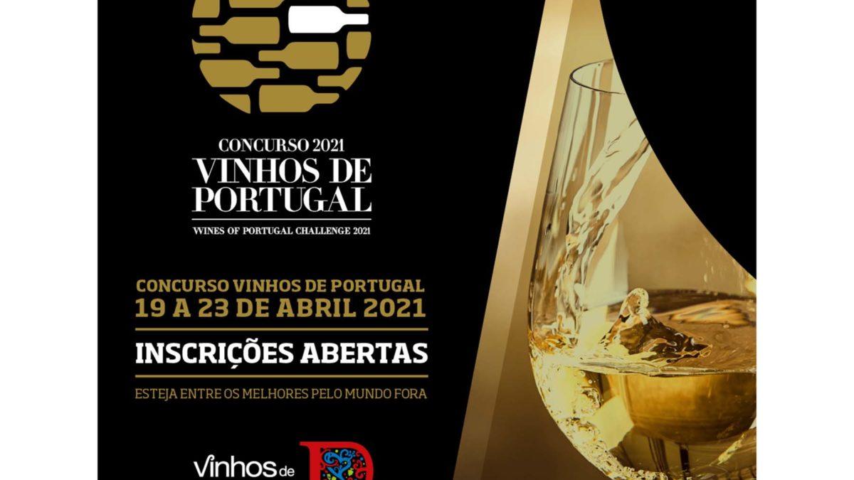Inscrições abertas para o Concurso Vinhos de Portugal 2021