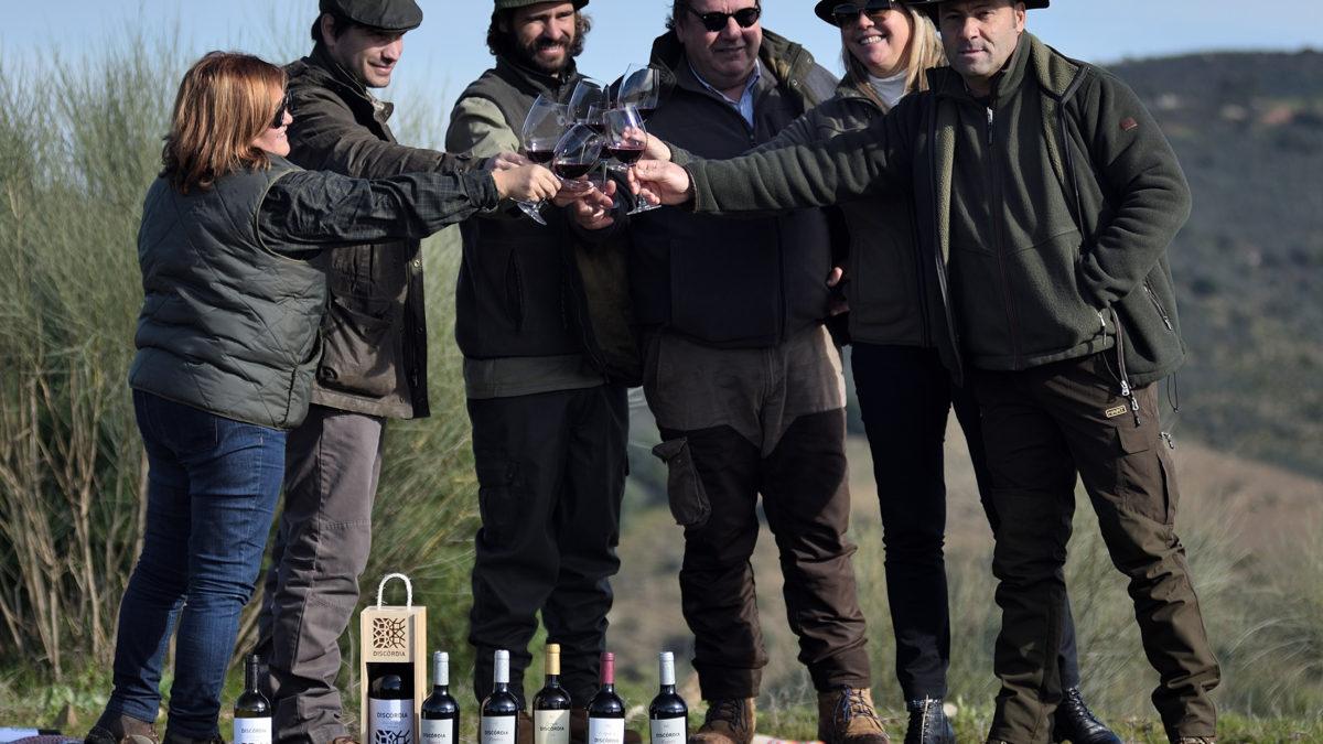 Novas colheitas dos vinhos Discórdia