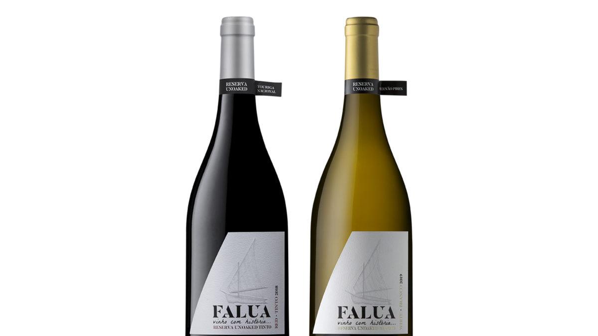 Dois reserva Unoaked da Falua