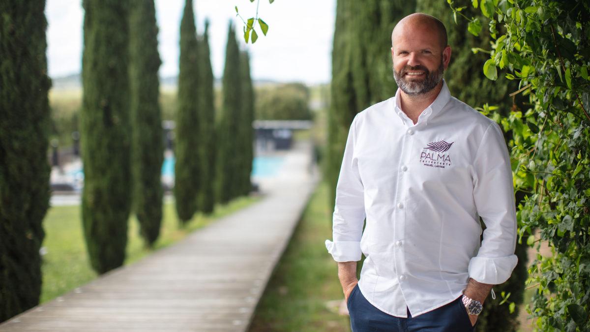 Torre de Palma Wine Hotel com chef Miguel Laffan